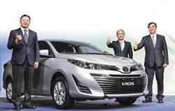 TOYOTA VIOS小改款 頂級版配置7顆氣囊 國產小型房車 再掀戰火