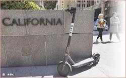 擾亂交通 美電動滑板車共享喊卡
