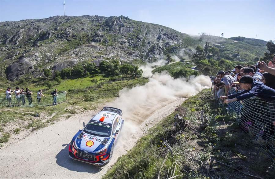 無懼凶險!WRC葡萄牙站雙料冠軍 HYUNDAI廠隊奪分站及車手第一