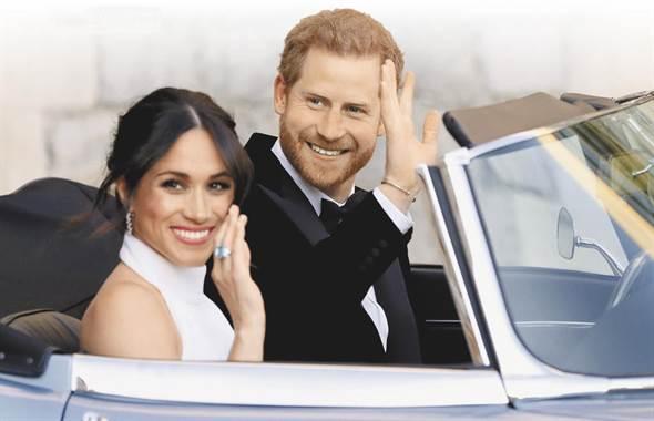 英皇室婚 車迷驚聲尖叫 御用車全出列