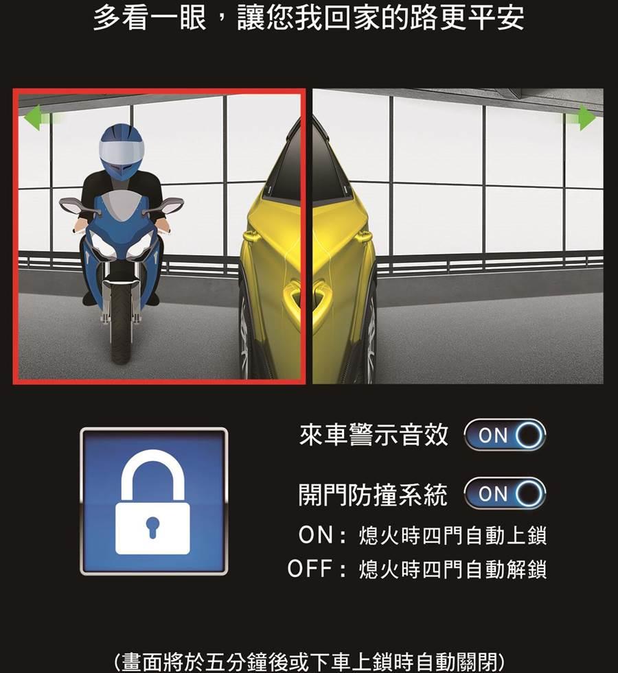 突開車門超NG! LUXGEN在地思維 開門防撞系統安全再升級