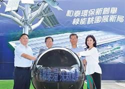 和泰汽車萬坪太陽能案場啟動
