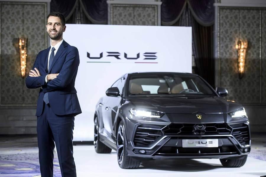 Automobili Lamborghini亞太區CEOMatteo Ortenzi訪台  Super SUV Urus登台倒數