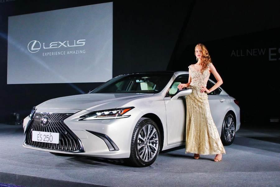 向旗艦看齊    Lexus New ES 167萬起超規格登場