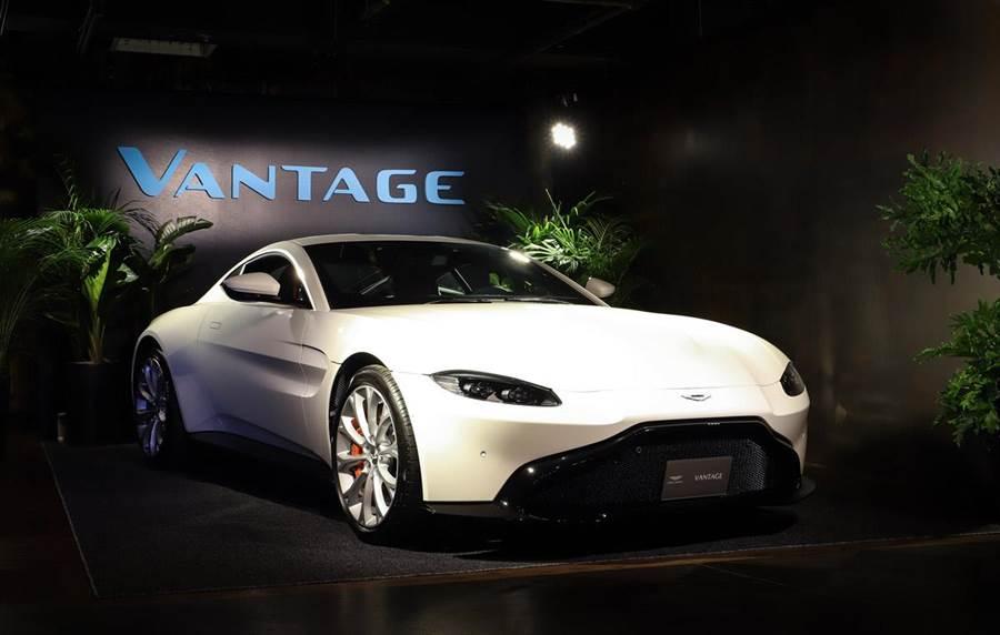 台灣VIP巡迴發表 Aston Martin New Vantage 880萬起強悍出世