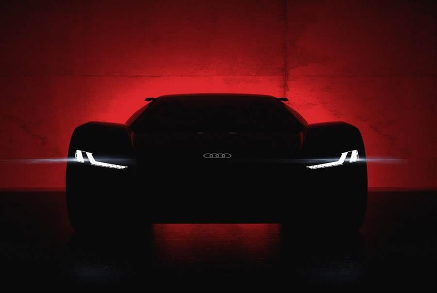 Audi純電動概念超跑將現圓石灘車展  PB18 e-tron演繹未來性能奧義