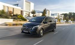 三芒星豪華商旅家族The new Mercedes-Benz V-Class 再搶市佔